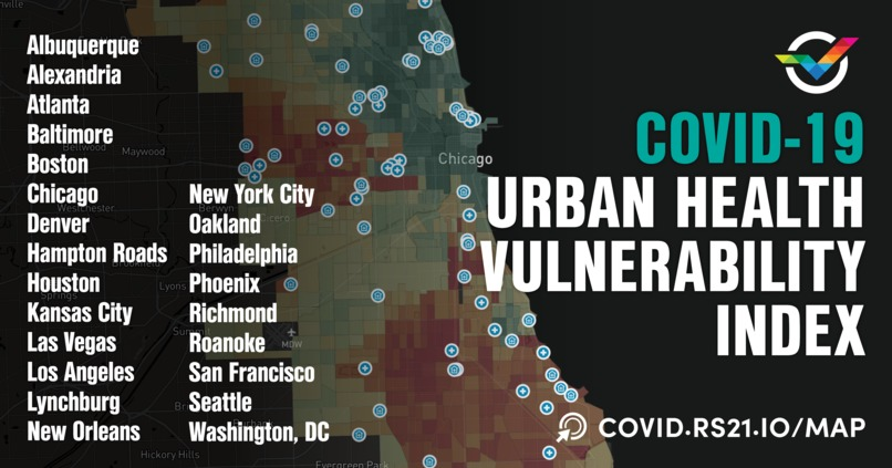 Urban Health Vulnerability Index – screenshot 1