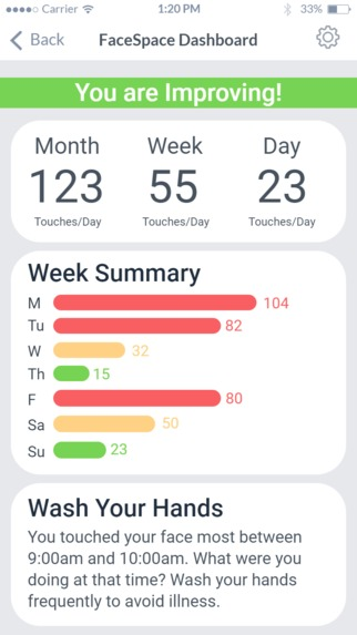 FaceSpace - Apple Watch Application – screenshot 3