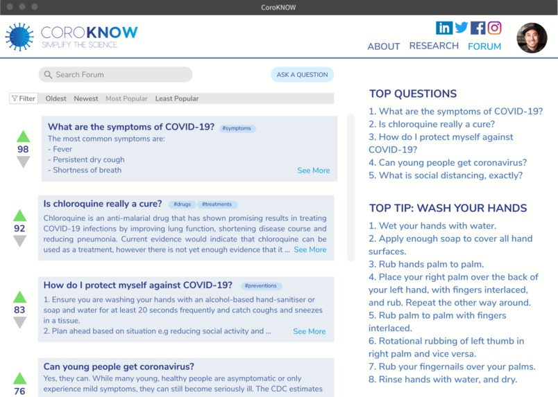 CoroKNOW – screenshot 7