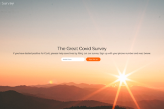 The Great Covid Survey
