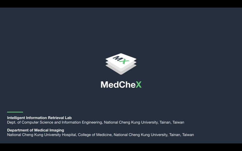 MedCheX – screenshot 1
