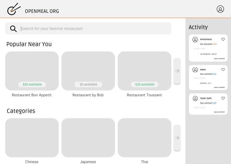 Open Meal – screenshot 3