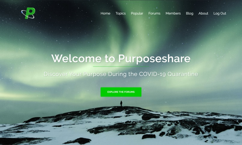 Purposeshare – screenshot 2