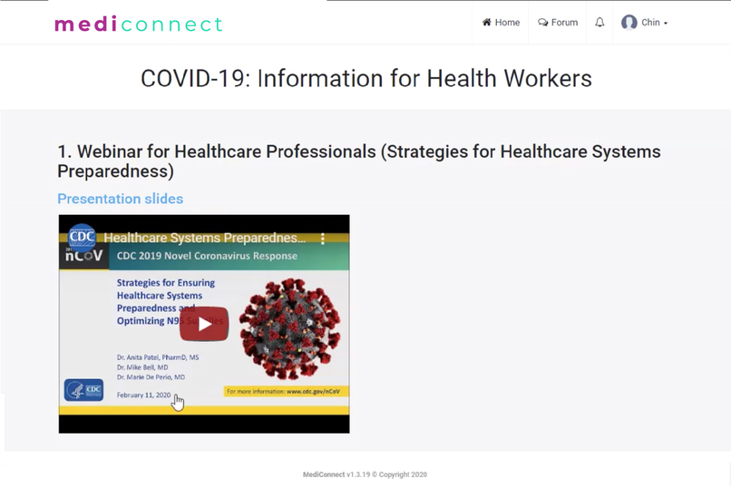 reach52: Connecting Asia to COVID-19 and primary healthcare – screenshot 2