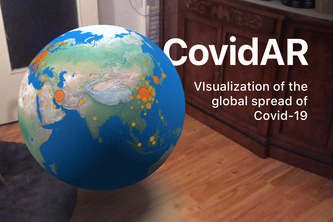 CovidAR - Data Visualization in Augmented Reality
