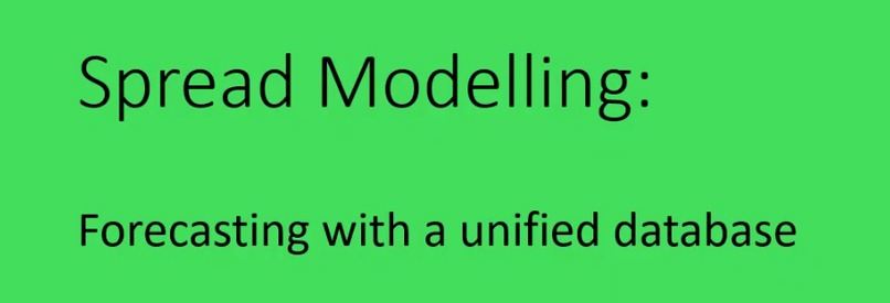 Spread Modelling: Forecasting with a unified database – screenshot 1