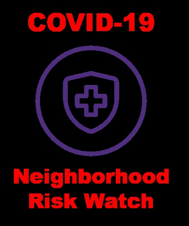 COVID-19 Neighborhood Risk Watch – screenshot 1