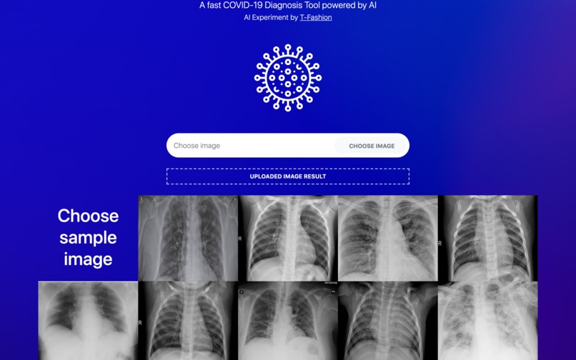 T-Covid: A Fast COVID-19 Diagnosis Tool – screenshot 4