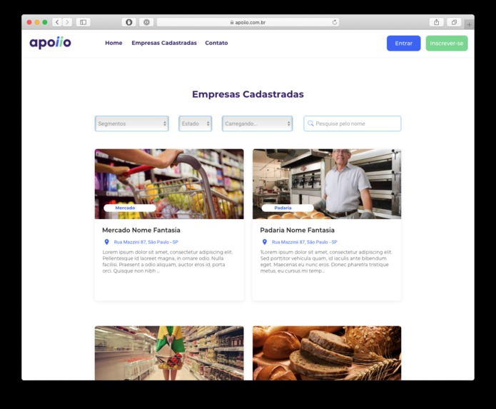 Apoiio – Support Small Businesses with Gift Cards – screenshot 4