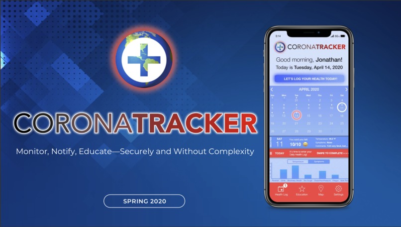 CoronaTracker – screenshot 1