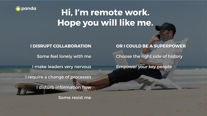 Free chatbot to support remote work transition – screenshot 2
