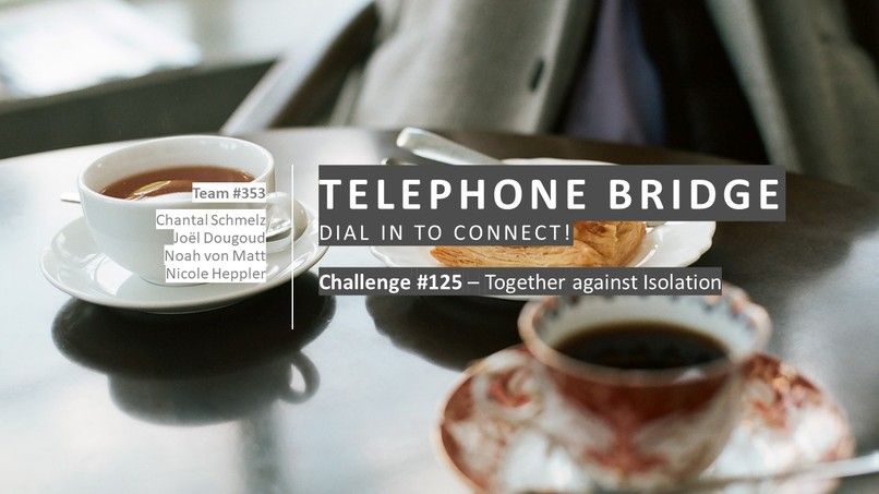 Telephone Bridge - Together against the Isolation  – screenshot 1