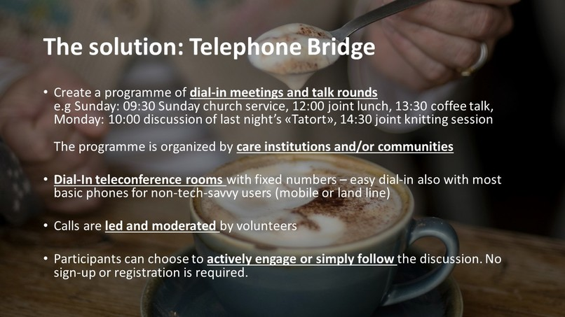 Telephone Bridge - Together against the Isolation  – screenshot 4
