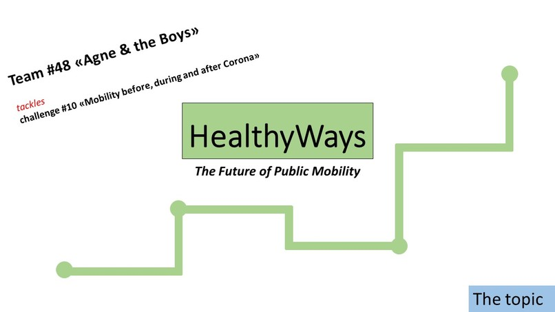 HealthyWays - the future of public mobility – screenshot 1
