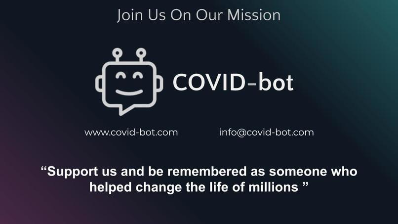 COVID-bot – screenshot 5