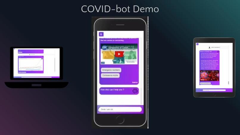 COVID-bot – screenshot 7