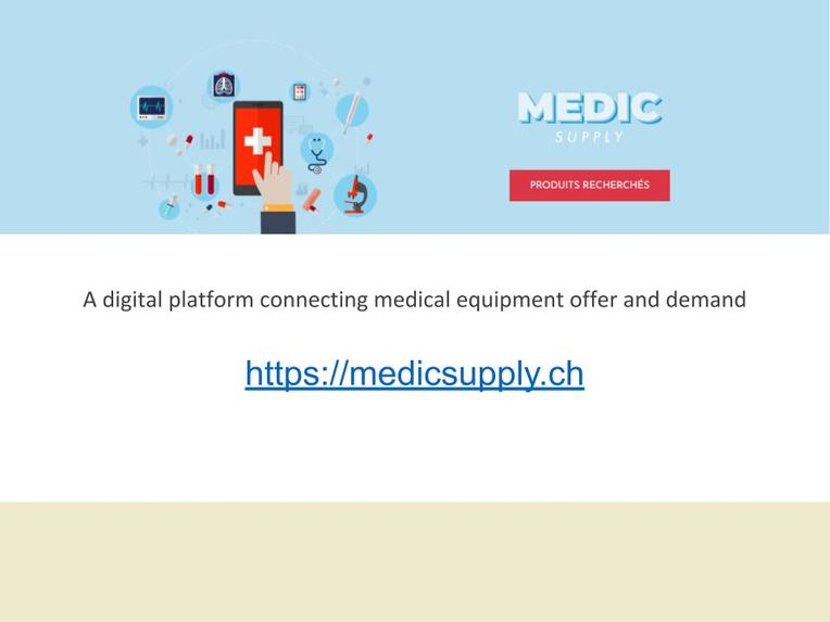 MedicSupply.CH – screenshot 1