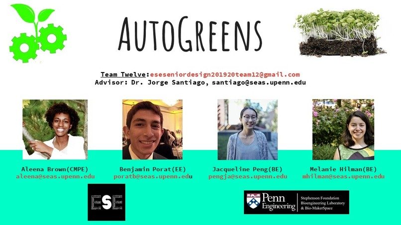 Team 12: AutoGreens – screenshot 1