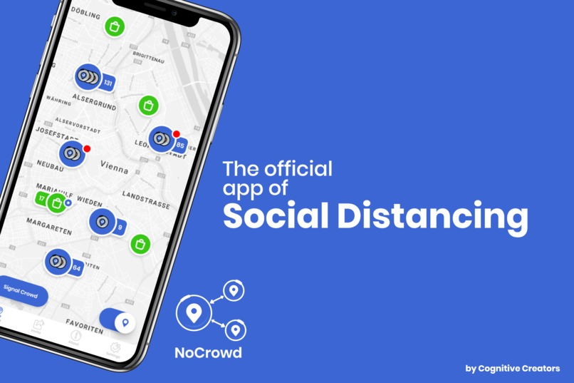NoCrowd - Social Distancing made simple – screenshot 1