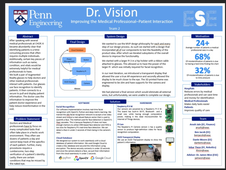 Team 2: Dr. Vision – screenshot 1
