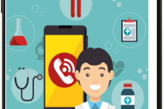 The smartphone as your email ID & Patient NFC Tag Reader