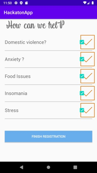 IT Psychological Support to cope with COVID-19 – screenshot 4