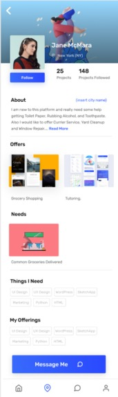 Needs and Offers – screenshot 4