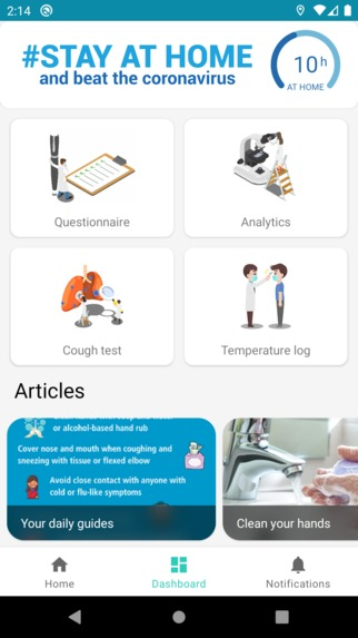 H.E.L.P. Health Environment for Living in Pandemia - 2.0 – screenshot 7