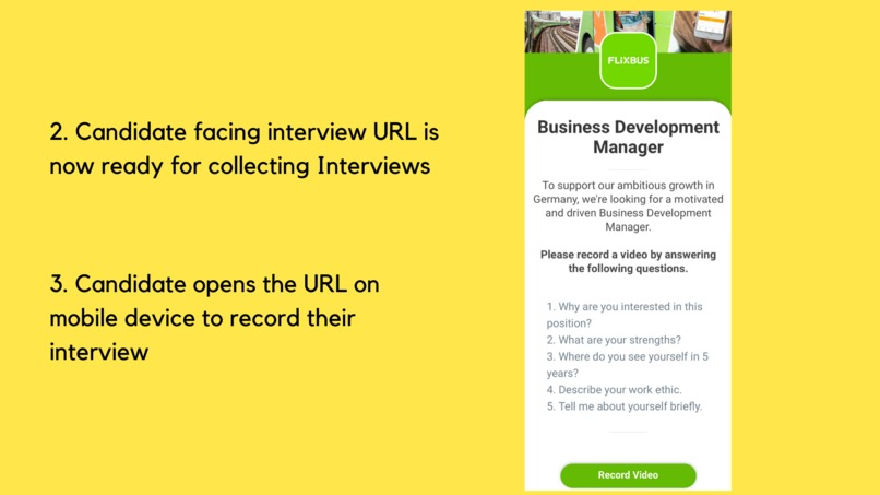 #43 AmpUp: Pre-recorded video interviews got super easy! – screenshot 2