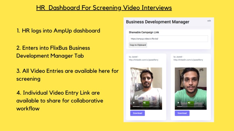 #43 AmpUp: Pre-recorded video interviews got super easy! – screenshot 9