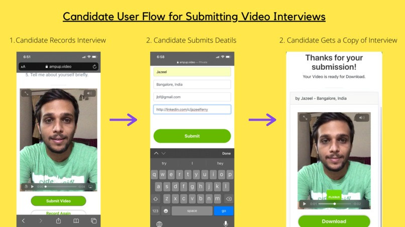#43 AmpUp: Pre-recorded video interviews got super easy! – screenshot 10