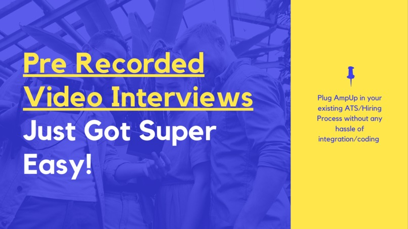 #43 AmpUp: Pre-recorded video interviews got super easy! – screenshot 11