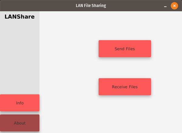 LANShare – screenshot 1