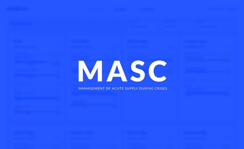 MASC (Management of Acute Supply during Crises) – screenshot 1