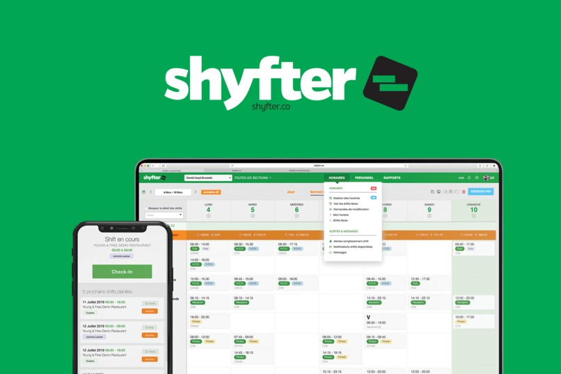 Shyfter Healthcare Scheduling – screenshot 1