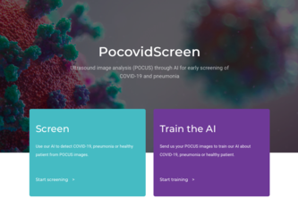 POCOVIDSCREEN- AI to detect COVID-19 with POCUS ultrasounds