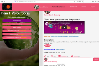 Planetry Voice Social