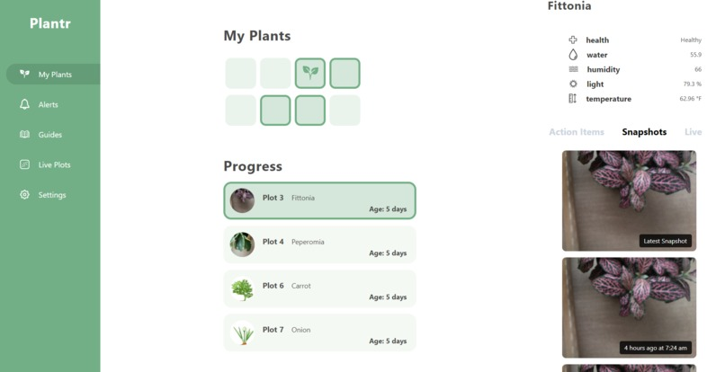 Plantr – screenshot 3