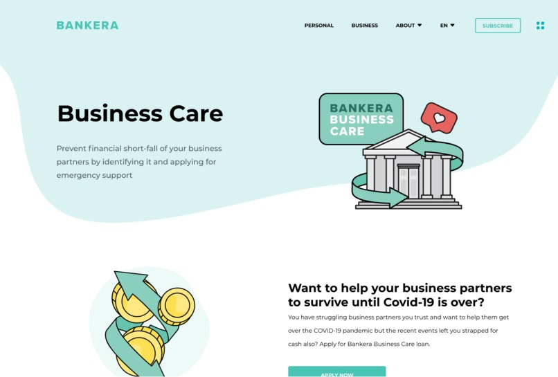 Bankera Business Care – screenshot 2