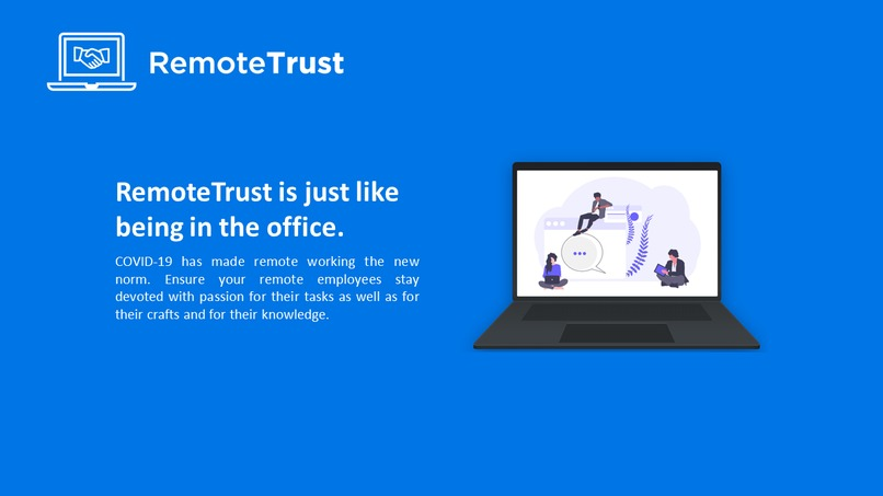 RemoteTrust – screenshot 1