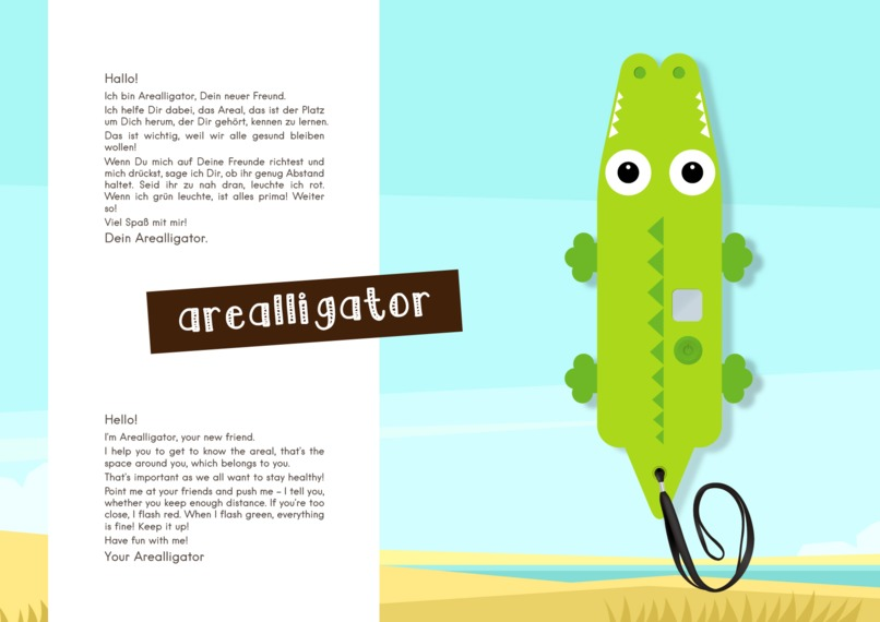 Arealligator - distance measurement & education-toy for kids – screenshot 7