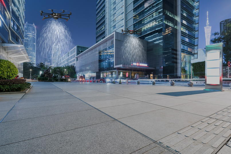 Autonomous Drone Disinfection for Covid-19 in Smart Cities – screenshot 8