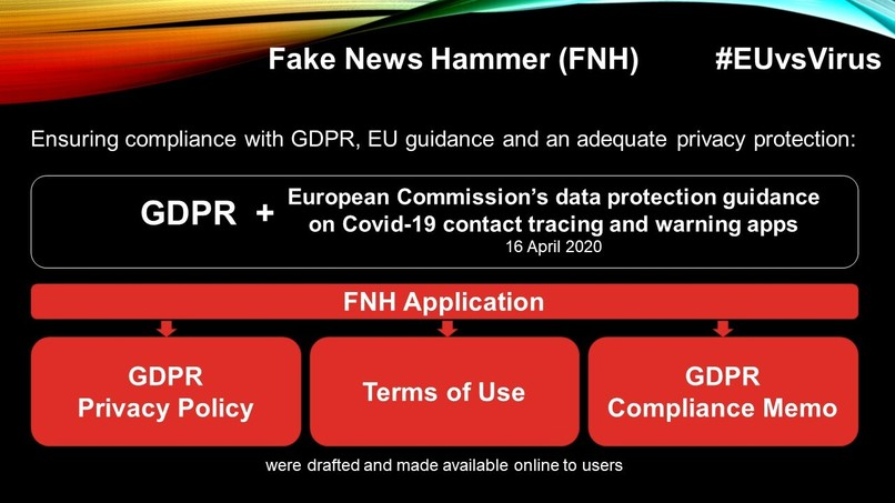 Fake News Hammer – screenshot 1