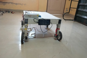 DRUG AND FOOD DELIVERY ROBOT FOR COVID19 PATIENTS