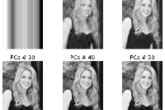 Image Compression using PCA