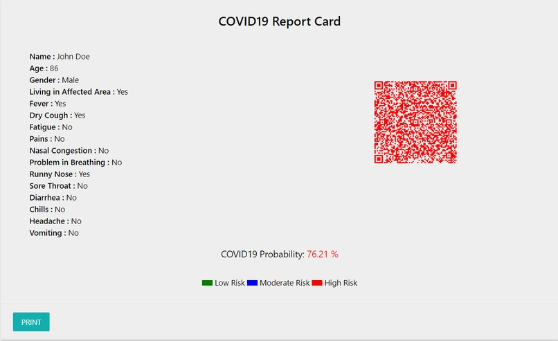 COVIDprob – screenshot 4