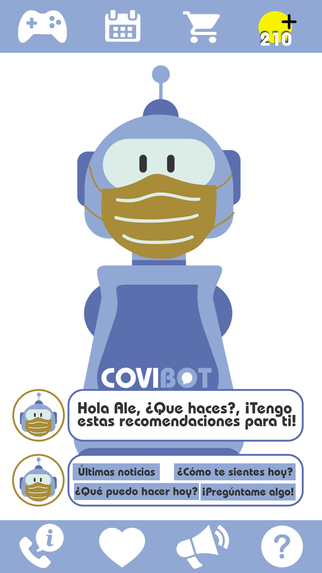 COVI BOT  – screenshot 1