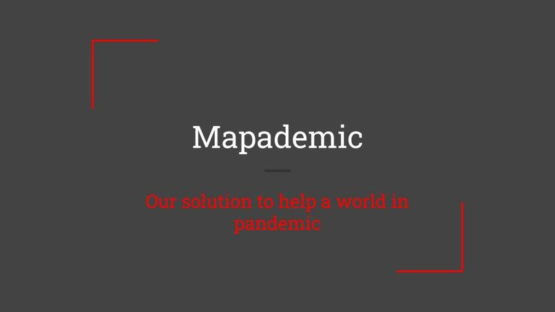 Team 5: Mapademic – screenshot 1