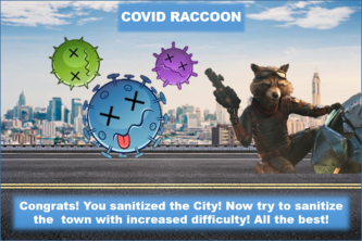 Covid Raccoon