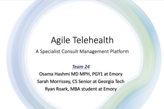 Team 24_Speciality Telehealth Access: Agile Telehealth